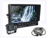 "Parkovací sada AHD 7"" LCD monitor do auta a kamera s 18 IR LED"