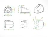 Couvací kamera s FULL HD 1920×1080 a s IR nočním viděním