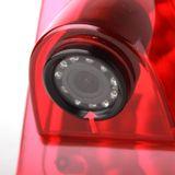 Vodotěsná couvací kamera s 170˚ úhlem záběru v brzdovém světle