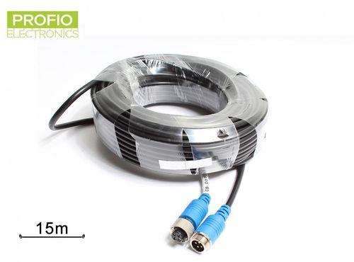 15 m prodlužovací kabel 4 pin pro couvací sety
