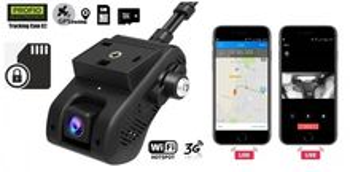Profesionální kamera do auta pro GPS sledování + kamery v reálném čase PROFIO X 2