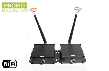 4 pin konektor WiFi vysílač a přijímač pro couvací sety