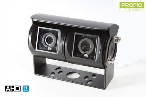 Duální parkovací AHD kamera s vertikálním úhlem pohledu 180°