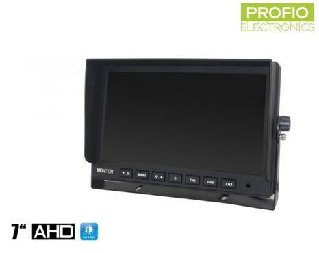"""LCD monitor 7"""" AHD s možností připojení až 3 couvacích kamer"""