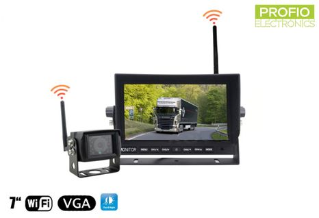 "Parkovací set do auta s 7"" LED monitorem + 1x WiFi kamera"
