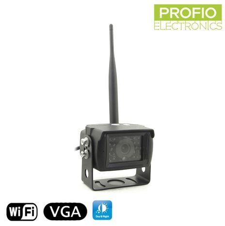 Parkovací kamera WiFi s IR LED až 13 m a úhlem pohledu 150°